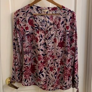 Super cute boho top by Lucky Brand. S